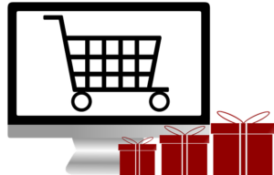 Infographie shopping caddie et cadeaux