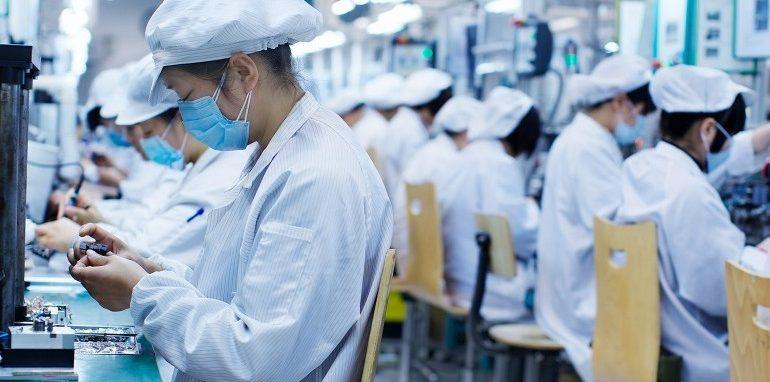 usine high-tech chine coronavirus