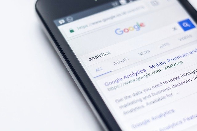 Recherche google analitycs