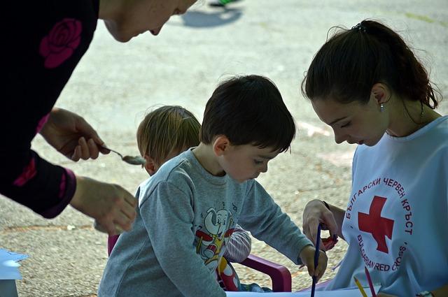 Enfant et bénévole