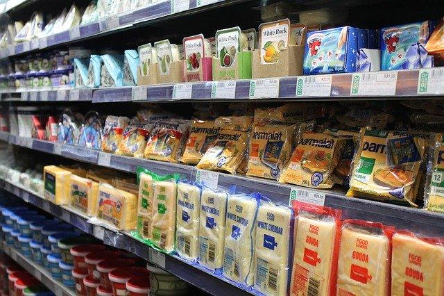 Rayon réfrigéré fromages