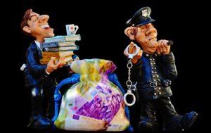Policier et homme