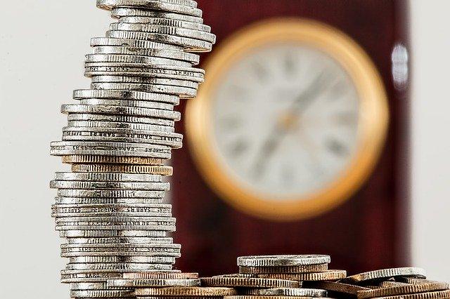 Pile de pièces de monnaies