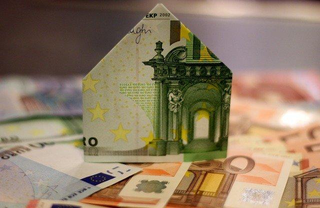 Maison en argent