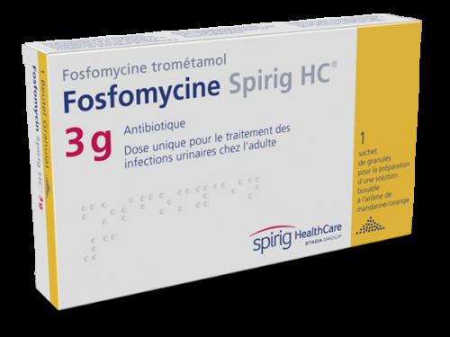 Fosfomycine